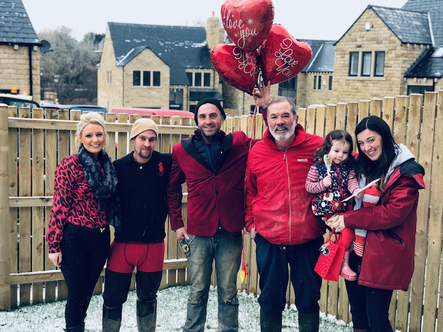 Heywood Homes go red for CHSF